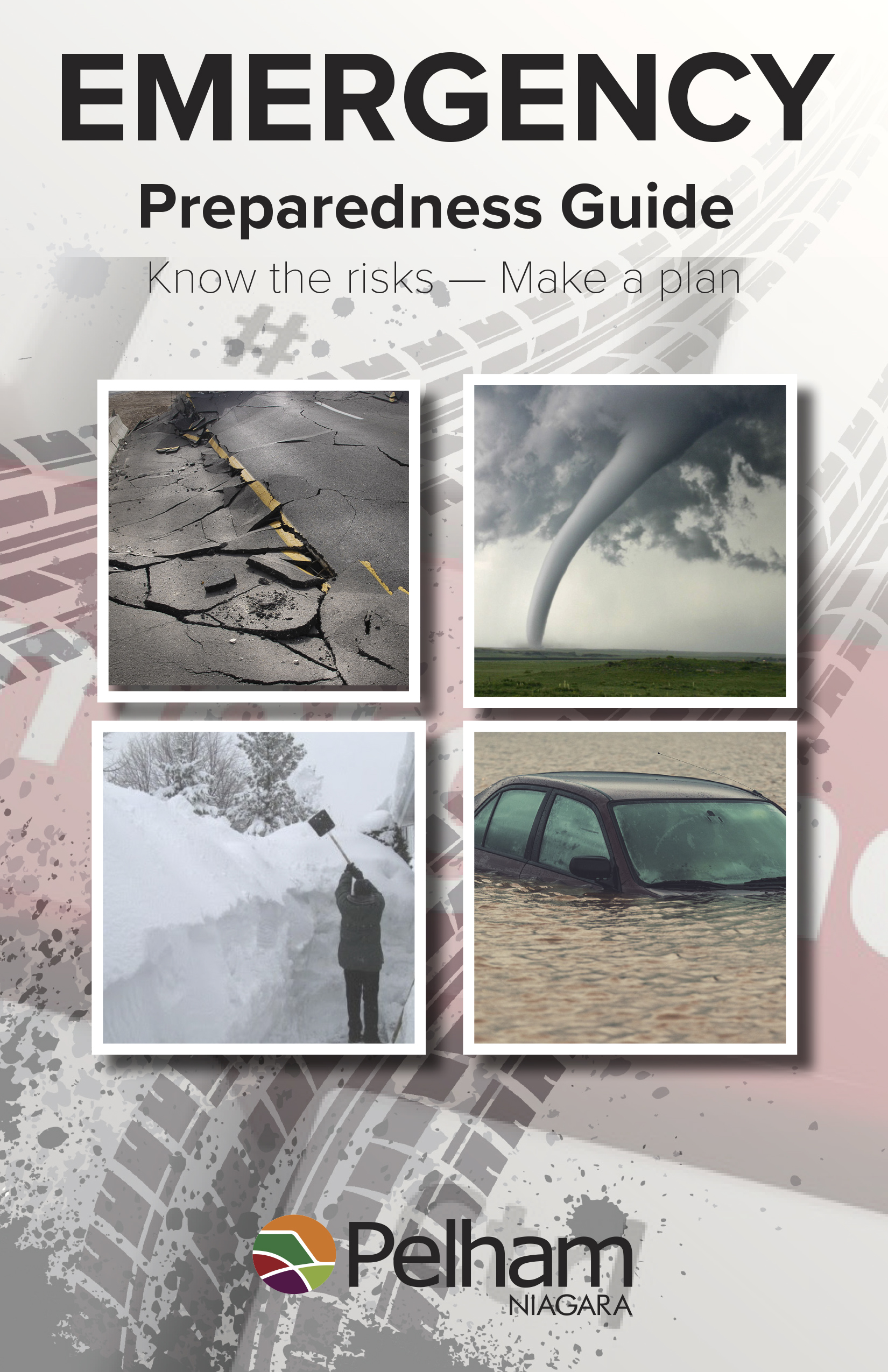 guide cover with tornado, blizzard, flood, and earthquake