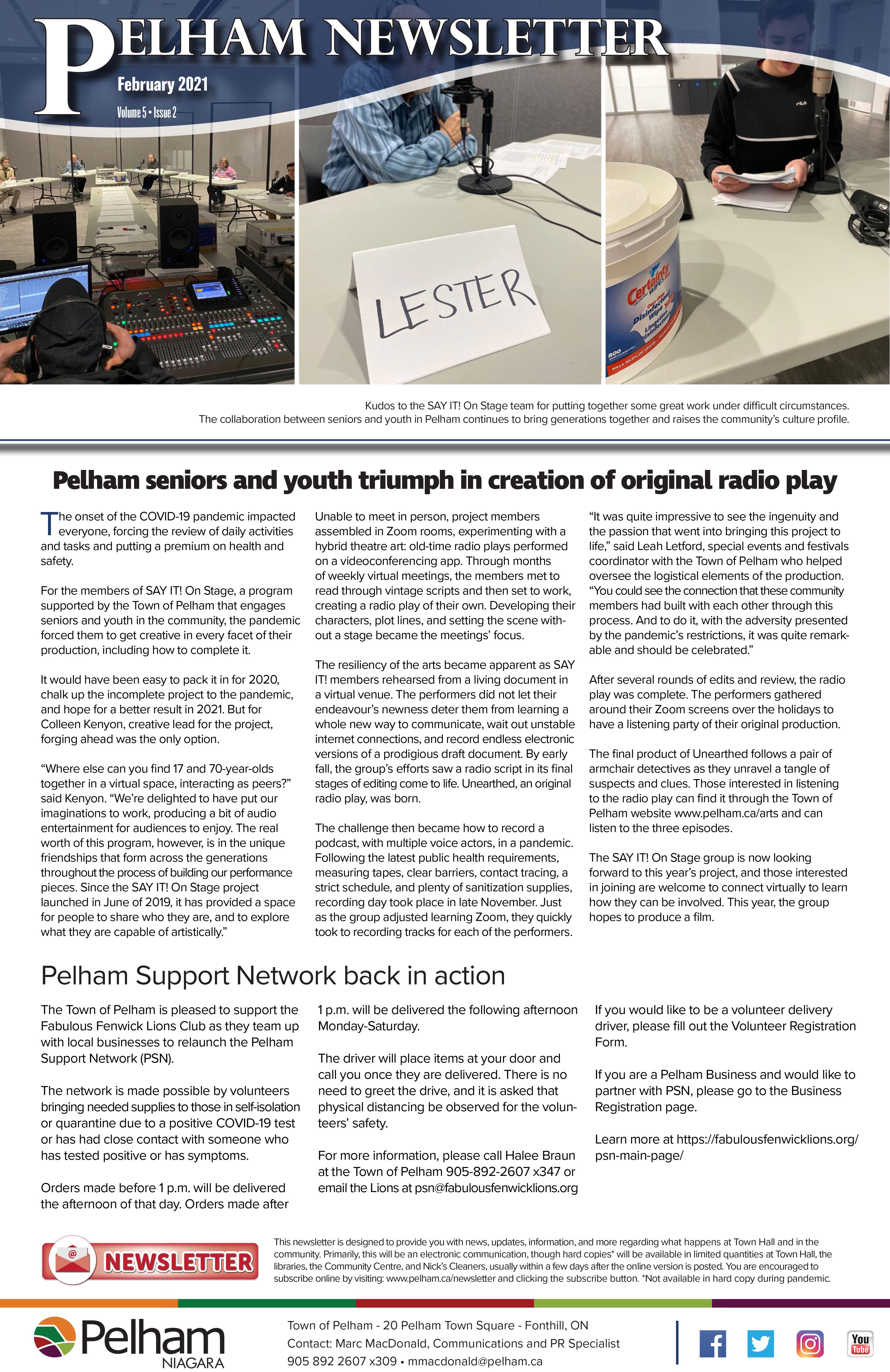 feb newsletter cover