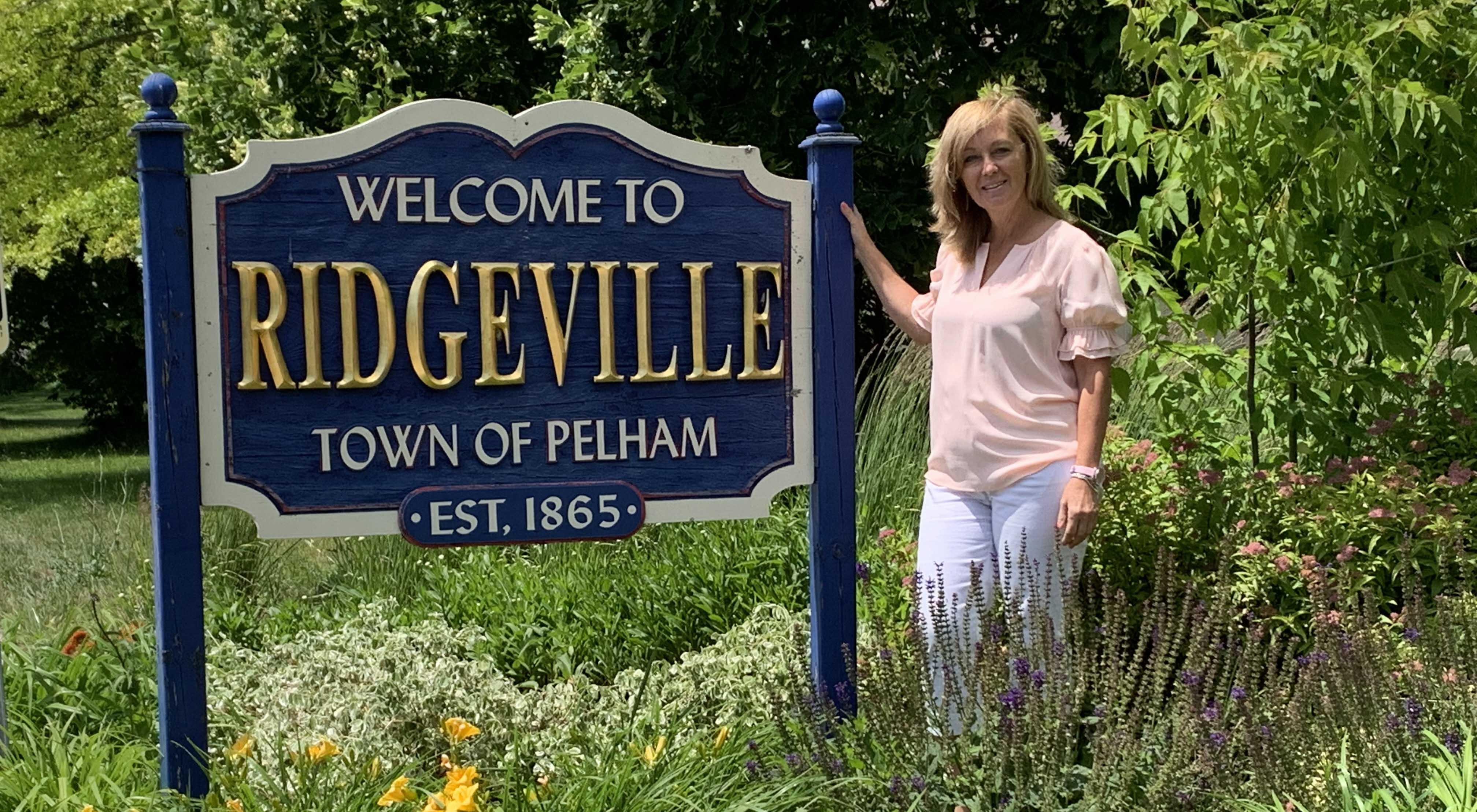 Ridgeville sign