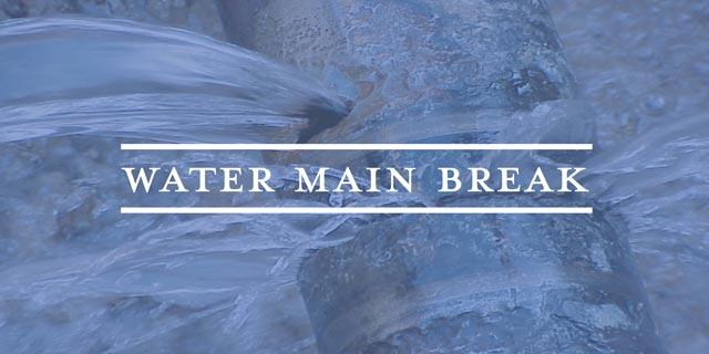 watermain break