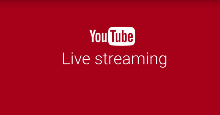 youtube live streaming text