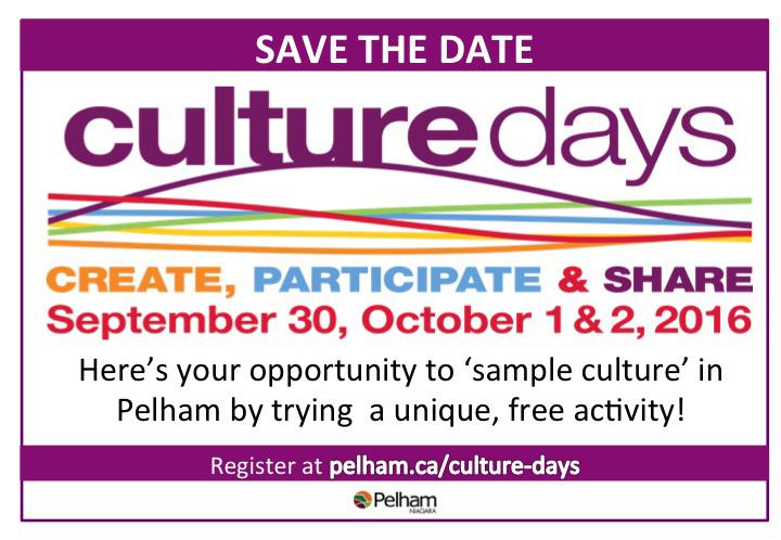 Culture Days Newspaper Ad