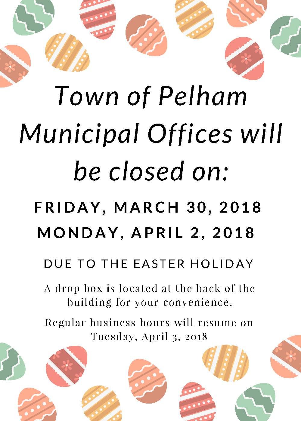 Easter Closure 2018